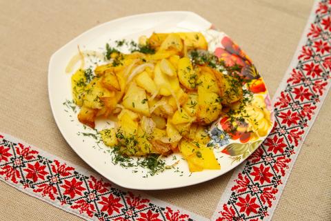 картофель жареный по-домашнему