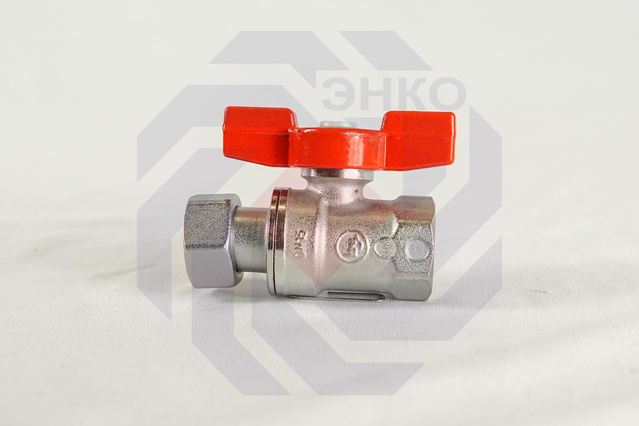 Кран шаровой с разборным присоединением ВР/ВР GIACOMINI R251P ½
