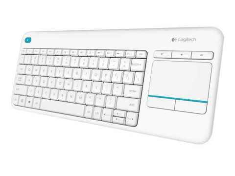 Logitech K400 plus white