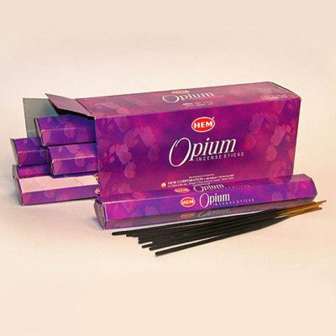 Благовония HEM опиум (20 шт)