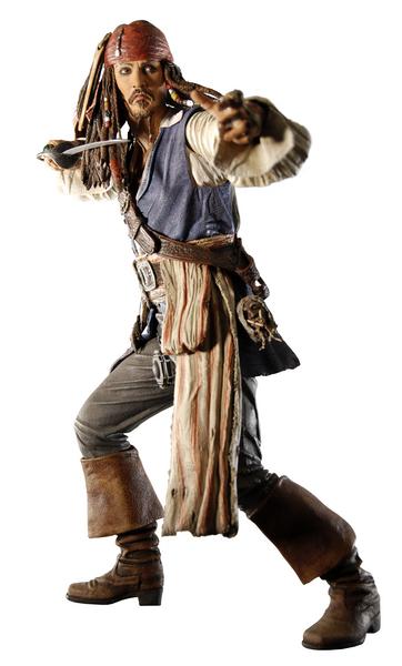 Пираты Карибского моря На краю света фигурка Джек Воробей
