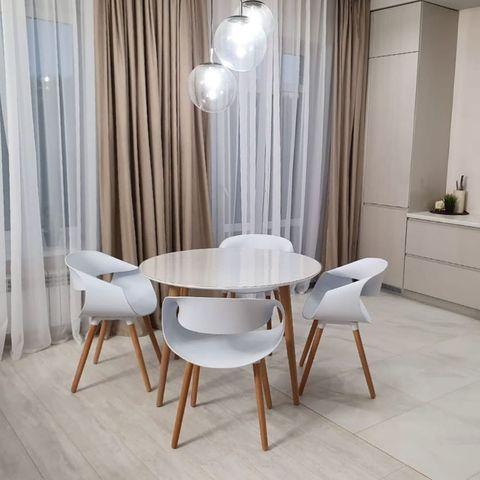 Интерьерный стул-кресло Infinity / Инфинити / PP / Wood