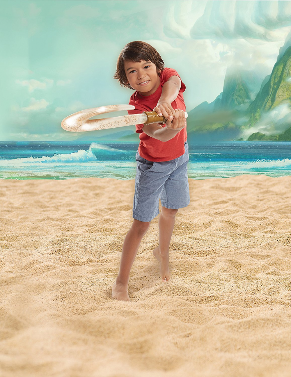 Моана интерактивная игрушка крюк Мауи