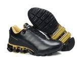 Adidas Porsche Design Black Gold Leather