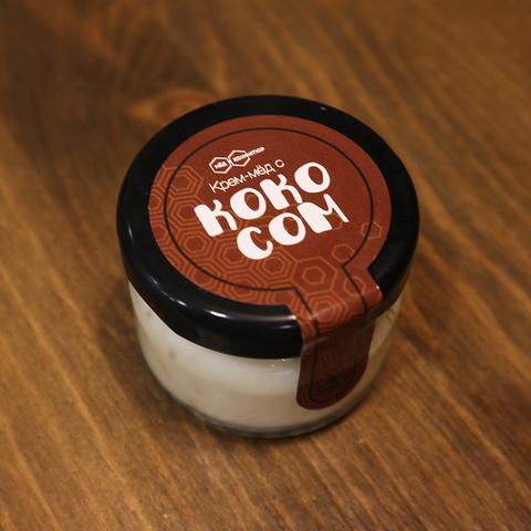 Крем-мед с кокосом