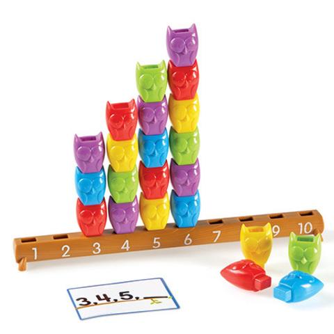 LER7732 Математический набор Веселые совята Learning Resources