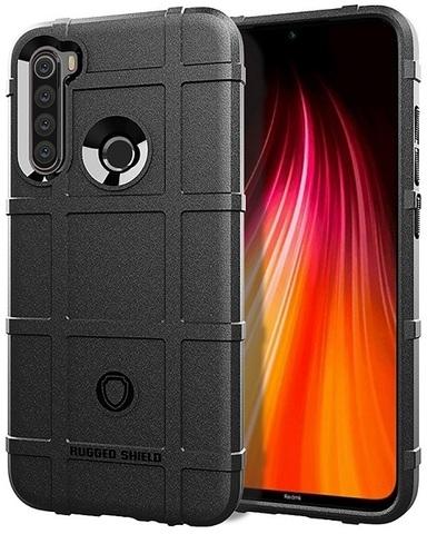 Чехол Xiaomi Redmi Note 8 цвет Black (черный), серия Armor, Caseport