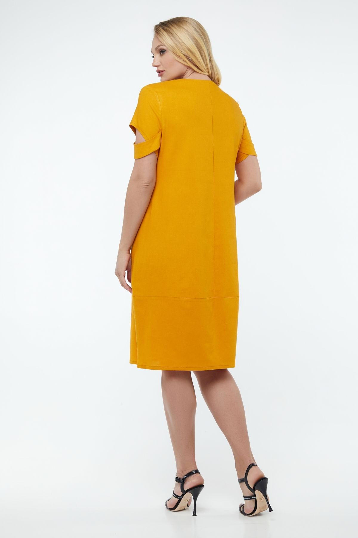 Платье Карина (горчица)