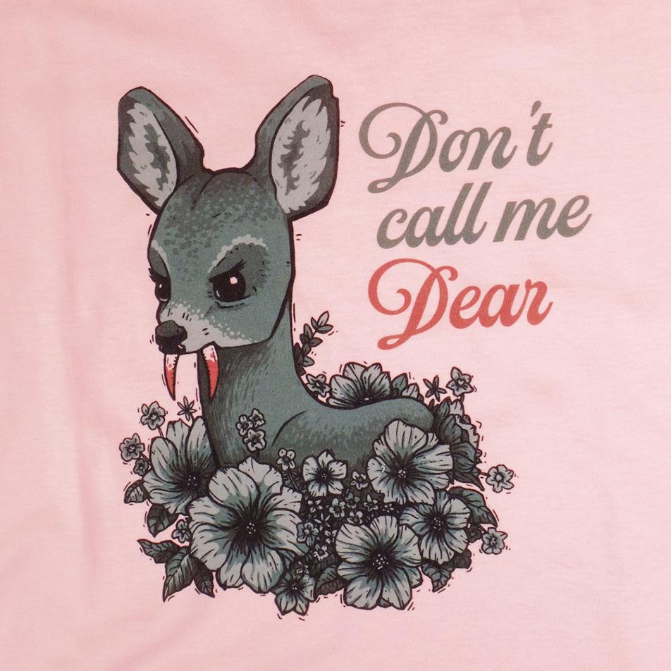 Don't call me dear / платье