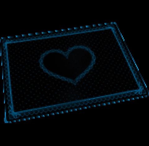 Силиконовый коврик для маникюра черный