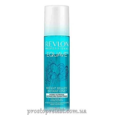 Revlon Professional Equave IB Conditioner 2 Phase Hydro Nutritive Detangling - Двофазний зволожуючий і живильний  кондиціонер для волосся