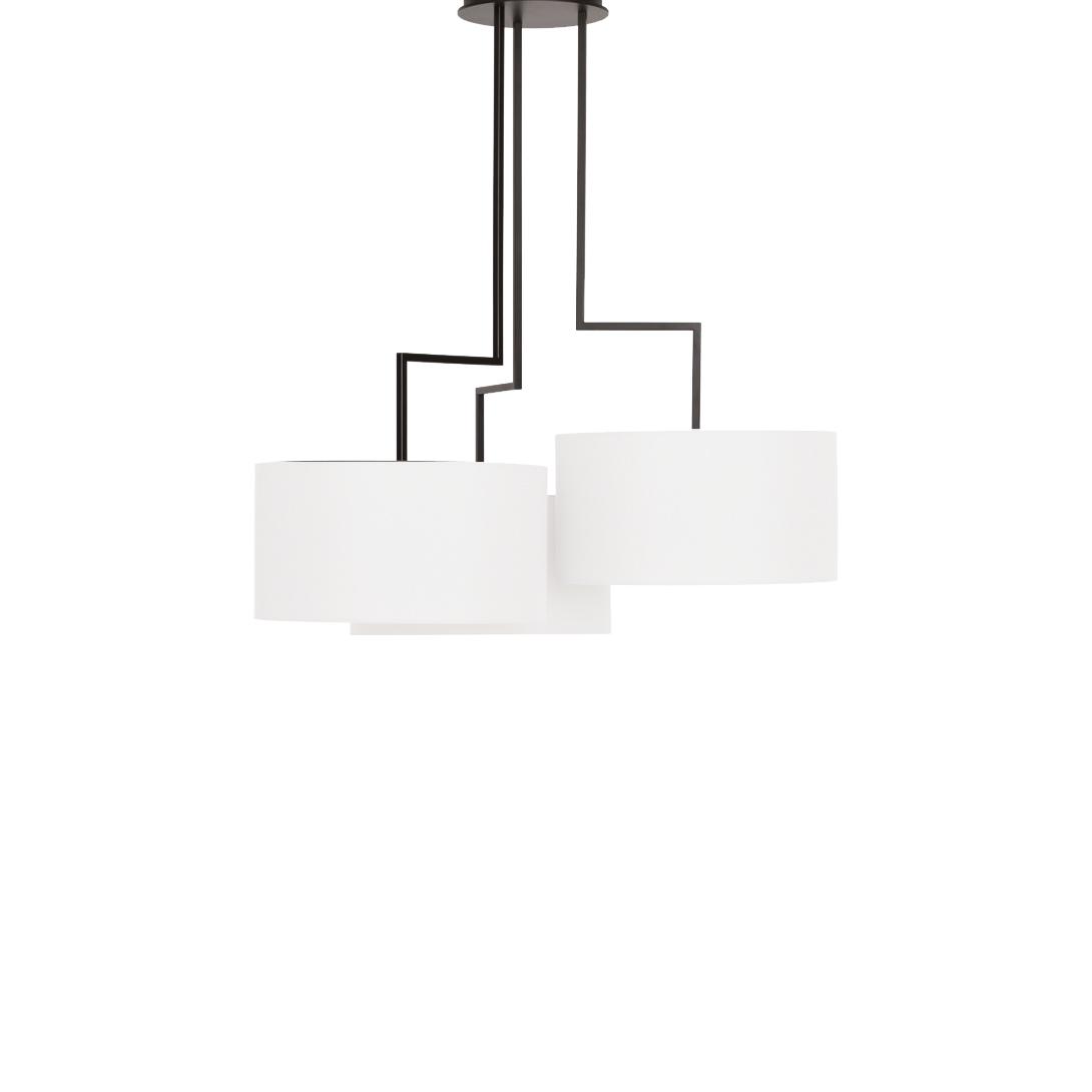 Потолочный светильник копия Noon 3 by Zeitraum (белый)