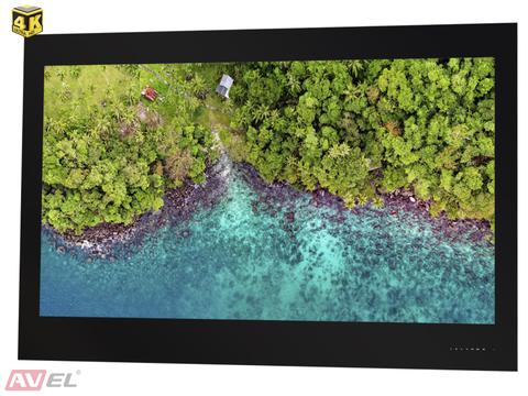Встраиваемый 4K телевизор AVEL AVS550SM (черная рамка)