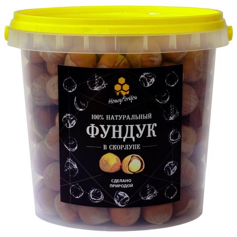Фундук в скорлупе HoneyForYou, 450 грамм