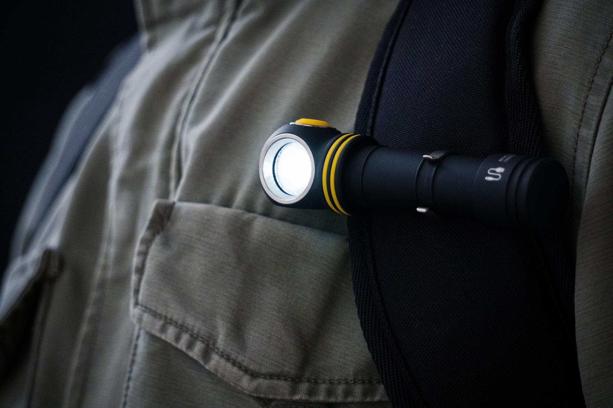 Налобный LED-фонарь Armytek Elf C2 Micro USB - фото 10