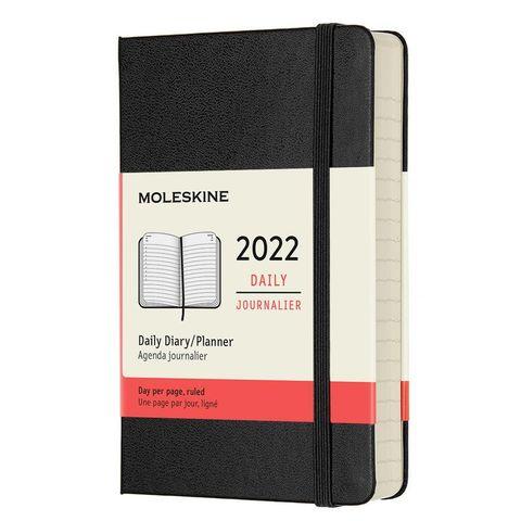 Ежедневник Moleskine (DHB12DC2) Classic Pocket 90x140мм 400стр. черный