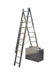 Трехсекционная универсальная лестница с допфункцией CORDA 3х11
