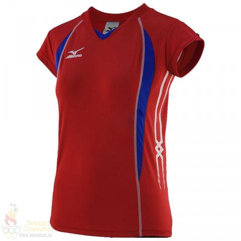 Футболка  Mizuno Premium Womens Cap Sleeve волейбольная женская