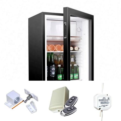 Электромеханический замок на холодильник с радиопультом