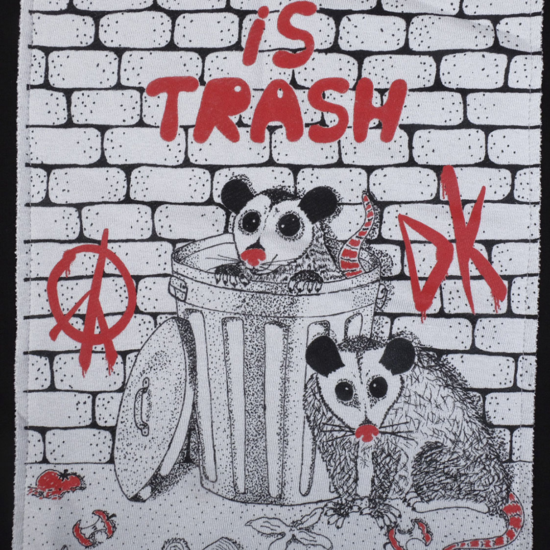 Our life is trash / свитшот