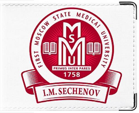 """Обложка для студенческого билета """"МГМУ"""" (2)"""