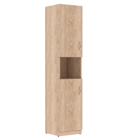 SR-5U.4(L/R) Шкаф колонка с 2-мя глухими малыми дверьми (386х359х1815)