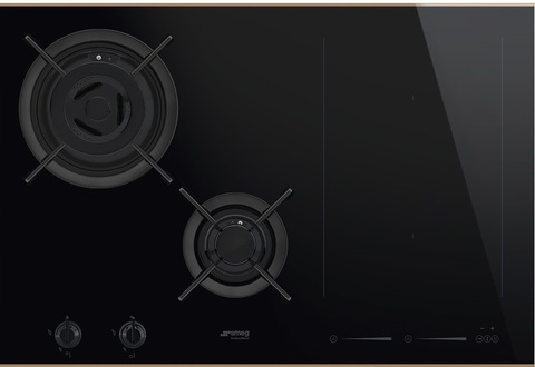 Комбинированная варочная панель Smeg PM6721WLDX