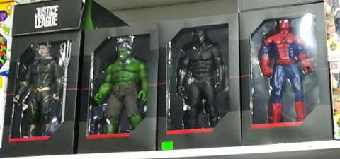 Набор из 4 оригинальных фигурок