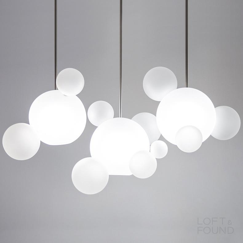 Подвесной светильник Lampatron style Bubble B Milk
