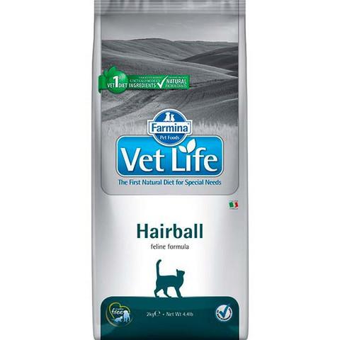 Vet Life Cat Hairball - выведение комочков шерсти из кишечника