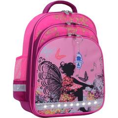 Рюкзак школьный Bagland Mouse 143 малиновый 389 (00513702)