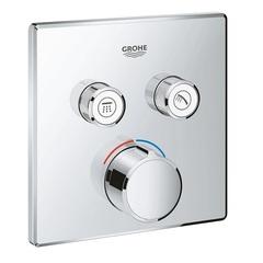 Термостат для душа встраиваемый на 2 потребителя Grohe  29148000 фото