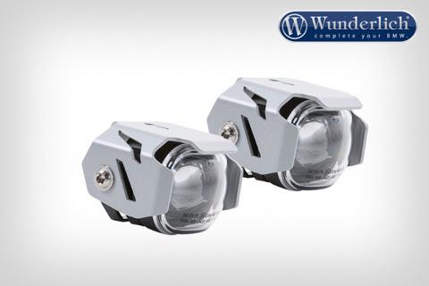 Комплект доп.света MicroFlooter на дуги BMW К1600 - серебристый