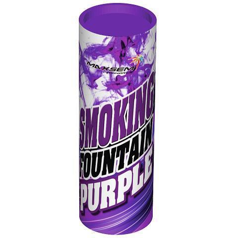 Дым фиолетовый 30 сек. h -115 мм.