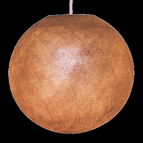 Хлопковый шар - подвес Мокко