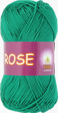 Пряжа Rose (Vita cotton) 4251 Мятный