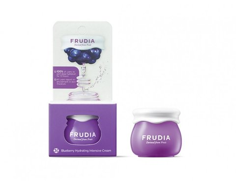 FRUDIA Миниатюра Blueberry Hydrating Cream/Фрудиа Увлажняющий крем с черникой, 10гр