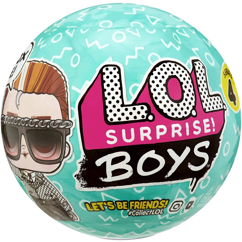 Кукла-сюрприз L.O.L. Surprise Boys 4 волна в шаре, 572695