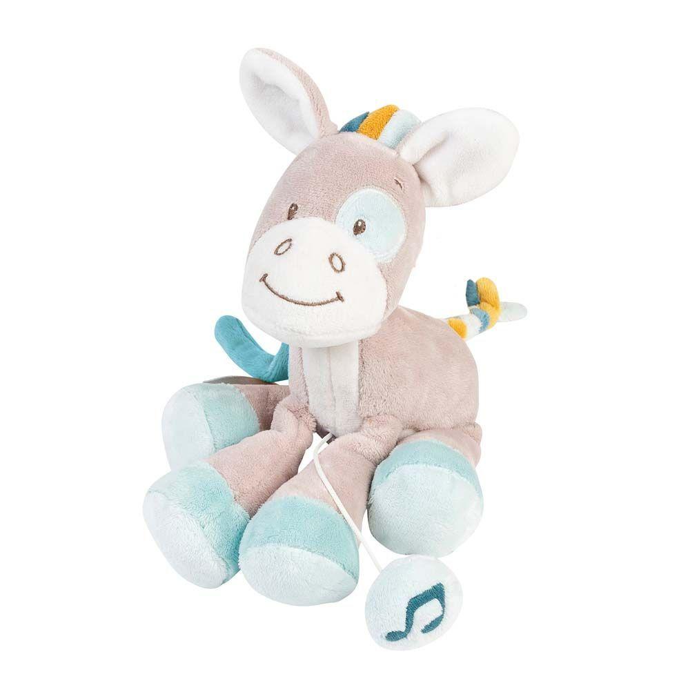 Мягкая музыкальная игрушка Nattou Soft Toy Mini Tim & Tiloo Лошадка