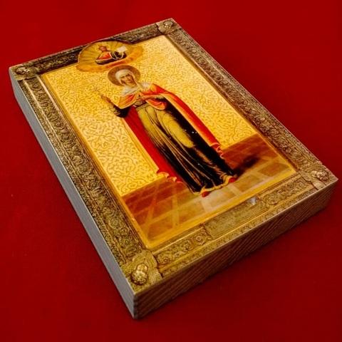 Икона святая Анастасия на дереве на левкасе мастерская Иконный Дом