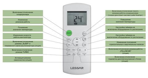 Lessar LS/LU-H09KPA2С