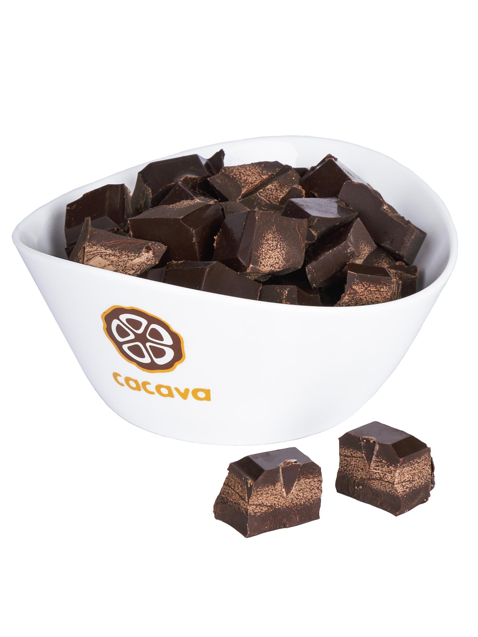Горький шоколад 88 % какао (Венесуэла), внешний вид