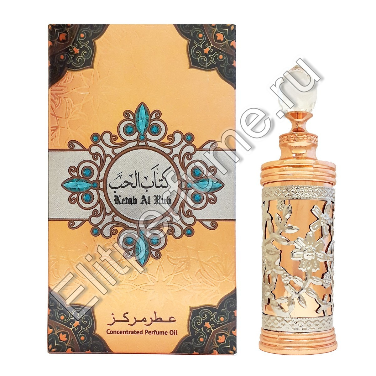 Ketab al Hub / Кетаб аль Хуб 12 мл арабские масляные духи от Халис Khalis Perfumes