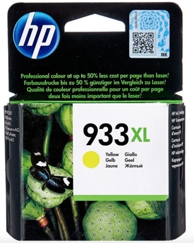 Картридж HP CN056AE 933XL желтый