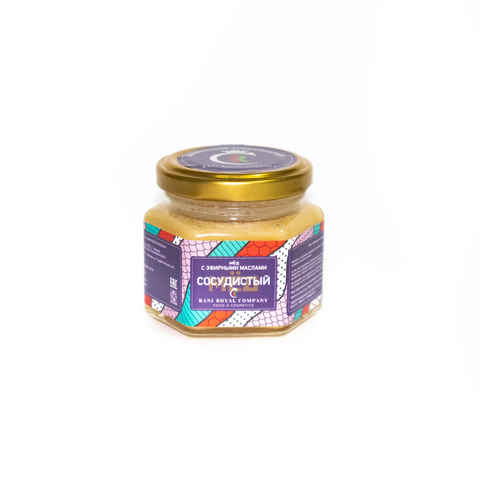 Мёд с эфирными маслами «Сосудистый» 120 г