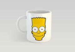 Кружка с рисунком из мультфильма Симпсоны (The Simpsons) белая 0015