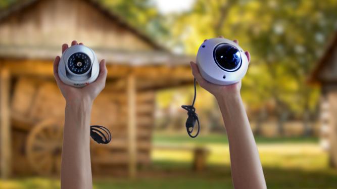 1 Мп купольные видеокамеры наблюдения японского бренда NATURE цена