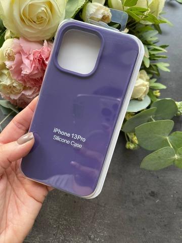 Чехол iPhone 13 Pro Silicone Case Full /amethyst/
