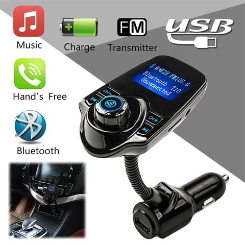 FM модулятор T10, Bluetooth, Hands Free