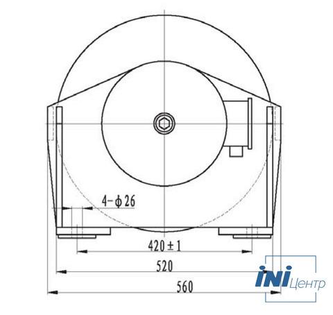 Компактная электрическая лебедка IDJ233-36-171-16